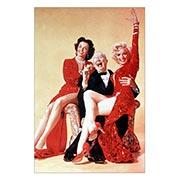 Хардпостер (на твёрдой основе) Gentlemen Prefer Blondes